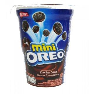 Oreo Mini Chocolate Flavoured Cream Biscuit, 67 Grams