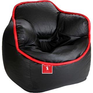 Sicillian Bean Bags Bucket Chair - Size Xxxl - Without Fillers - Cover Only (Black  sc 1 st  Shopclues & Buy Sicillian Bean Bags Bucket Chair - Size Xxxl - Without Fillers ...