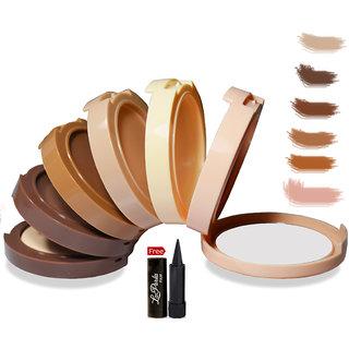Mars Contour Highlight Cream Palette With Free Laperla Kajal Worth Rs.125/