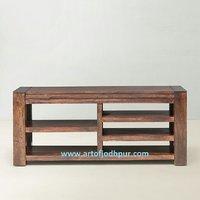 Tv Cabinets In Sheesham Wood Jodhpur Handicraft - 6046536