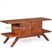 Tv Cabinets In Sheesham Wood Jodhpur Handicraft - 6046538