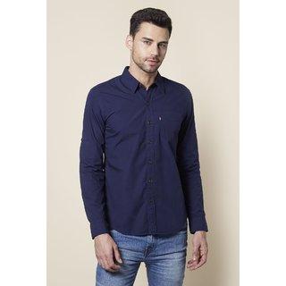 Levi's Mens Cotton Blue Casual shirts