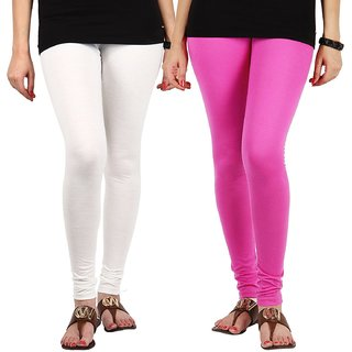 2 set of soft cotton churidar leggingns size XXL for girls and women of BANDAY COLLECTIONS