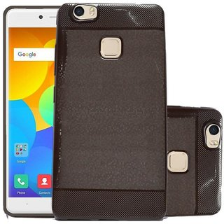 ECS Soft Back Case Cover With Camera protection For Yu Yureka 2 - Brown