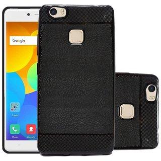 ECS Soft Back Case Cover With Camera protection For Yu Yureka 2 - Black