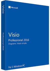 Microsoft Visio Professional 2016 License Key  link delivery by mail