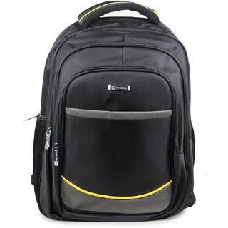 1ce8a22a08cd Buy Unisex Black Laptop Backpack Online - Get 0% Off
