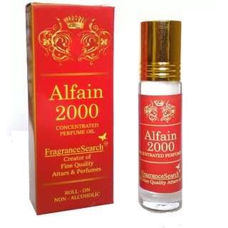 Fragrance Search Alfain 2000 8Ml Perfume Oil/Attar Non Alcoholic Mild And Sweet