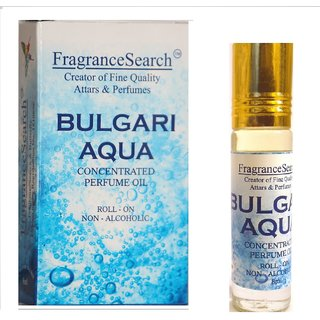 Fragrance Search Bulgari Aqua 8Ml Perfume Oil/Attar Non Alcoholic Fresh Aquatic Aroma