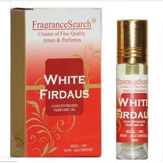 Fragrance Search White Firdaus 8Ml Perfume Oil/Attar Non Alcoholic Jannat-Ul-Firdaus Aroma