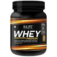 INLIFE Whey Protein Powder 1 Lbs(Coffee Flavour)