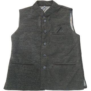 BLACK Modi Jacket Nehru Jacket Waistcoat Half Jacket Ethnic Wear Winter Wear