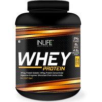 INLIFE Whey Protein Powder 5 lbs (Mango Flavor) Body Building Supplement