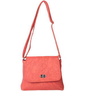 Zornna Orange Casual Slingbag