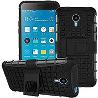 Vivo Y21 / Y21L Defender Dual Armor Back Cover Case black