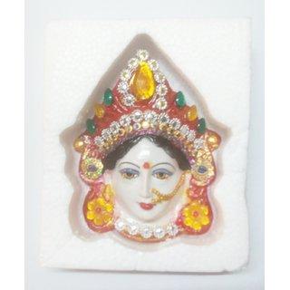 Goddess Lakshmi Margashirsha guruvar vrat Face Set Idol