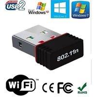 Wi Fi Receiver 300Mbps, 2.4GHz, 802.11b/g/n USB 2.0 Wir