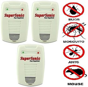pack of 3 New Electronic insect and pest control machine japanese technology 6 in 1