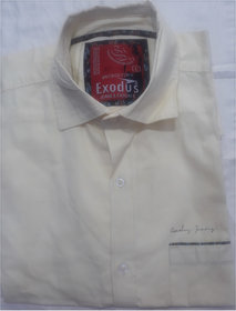 EXODUS Mens Half Slim Fit Casual Linen Shirt  (L and XL Size)