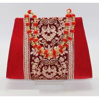 Red Velvet Clutch
