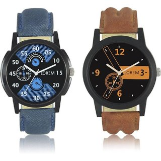 LR 01 LR 02 Combo 2 PCS Watch Blue Belt Brown Belt Black Cash vjzone v j zone