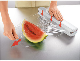 Wraptastic Food Wrap Dispenser - Keep Your Food Fresh  Clean