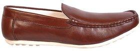 Brown Lofar Leather Shooes