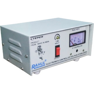 Rahul 5515 c 415 VA 140-280 Volt 1 LCD/LED TV +DVD/DTH/Music System Automatic Voltage Stabilizer