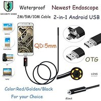 5.5mm 6 LED Android PC Endoscope Waterproof Inspection