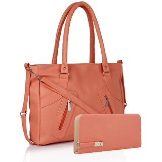 VARSHA FASHION ACCESSORIES WOMEN BAG 24 PEACH,CLUTCH