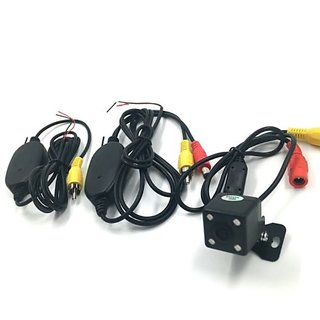 Car Rear View Backup Camera 2.4GHZ Wireless Transmitter Receiver Parking Assist