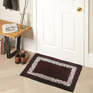 Home Berry Cotton mat Brown 15 x  23 - 1 pc