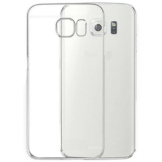 Samsung Galaxy On Max Soft Transparent Silicon TPU Back Cover
