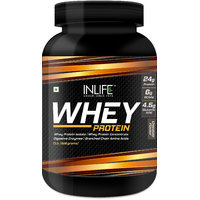INLIFE Whey Protein Powder 2 Lbs (Chocolate Flavour)