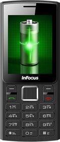 Infocus Hero Power B1 (Dual Sim,3000 MAh Battery,Black-