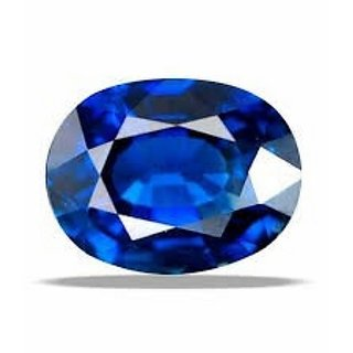 7.50 ratti 100 best quality blue sapphire (neelam) by lab certifie