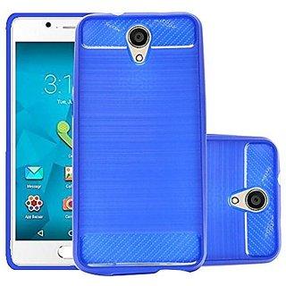 ECS Soft Matte Finish Back Case Cover For Micromax Bharat 4 Q440 - Dark Blue