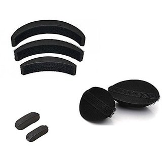 3combo  set of hair puff hair base accessories