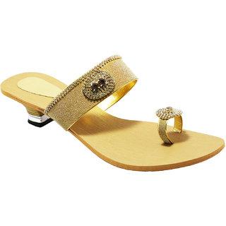2f3cfd7098794 Buy Women s Fancy Casual Stylish Party wear Durable Heel Sandals ...
