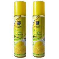 DSP 2 In 1 Lemon Air Freshener Combo Pack Of 2 (250ML E