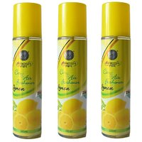 DSP 2 In 1 Lemon Air Freshener Combo Pack Of 3 (250ML E