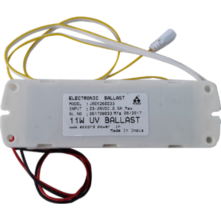 Accord 24v DC power BALLAST (Choke) for 11w UV tube Suitable for All Brand  RO- UV Water Purifiers