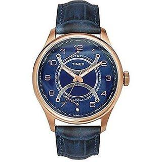 Timex Quartz Blue Round Men Watch TWEG14510