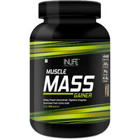 INLIFE Mass Gainer Powder 2 Lbs Chocolate Flavor For Mu