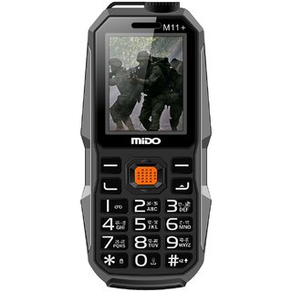 Mido M11+ (Dual Sim, 1.8 Inch Display, 1200 Mah Battery)