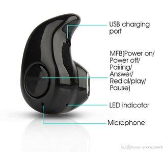 vivo Y29 Compatible Mini Style Wireless Bluetooth In-Ear V4.0 Stealth Earphone Headset By GO SHOPS
