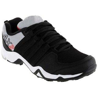 Buy Clymb Mens Black Gray Running Shoes
