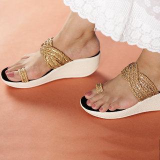 Altek Designer Copper Sandal for Women (foot-1373-coppe