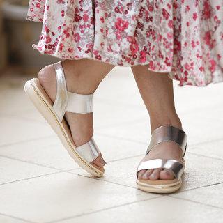 Meia Women's Silver Sandals