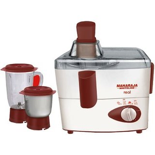 Maharaja Whiteline Real 450W Mixer Juicer Grinder 2 Jars
